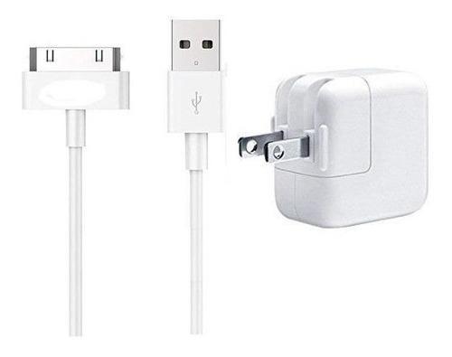 Cargador iPad 12 W + Cable 30 Pin Usb Apple Todo Original