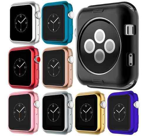 Case Protector Tpu Brillante Premium Para Iwatch Serie 3 2 1