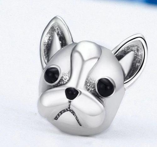 Charm Perro 100% Plata Compatible Con Pandora Envío