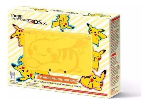 Consola New Nintendo 3ds Xl Pikachu Yellow Edition Nuevo