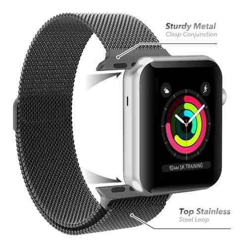 Correa Extensible Apple Watch 38mm 1 2 3 Mumba Metal Origin