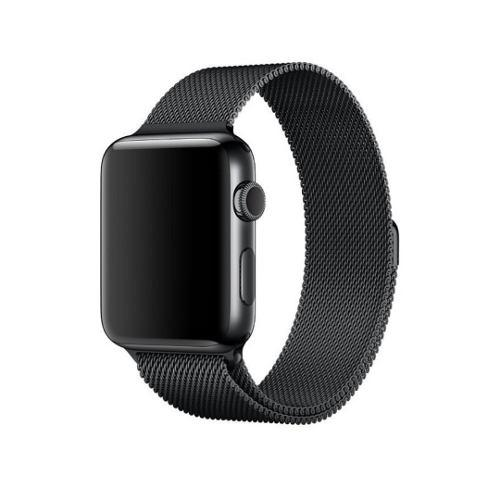 Correa Generica Metal Milanesa Para Apple Watch 38-40-42-44