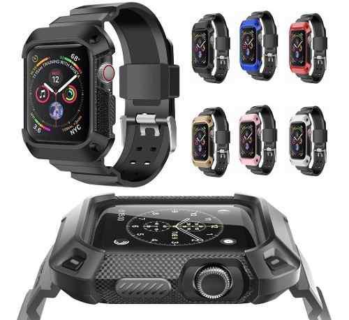 Correa Uso Rudo Case Rugged Para Apple Watch Serie 4 40/44mm