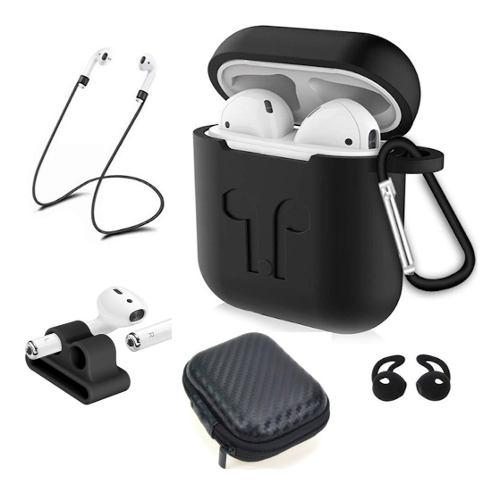 Funda Case Para Apple AirPods - Set De 6 Accesorios