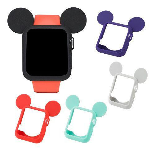 Funda Case Protector Mouse Para Iwatch Serie 1 2 3 38mm 42mm
