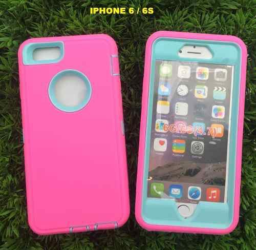 Funda De Uso Rudo 3 En 1 Para iPhone 6 /6s