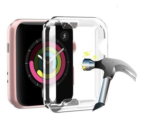 Funda Flexible Case Pantalla Completa Apple Watch 38 Y 42 Mm