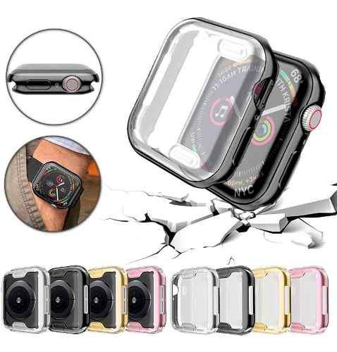 Funda Tpu 360 Flexible Para Apple Watch 40/44 Mm Serie 4