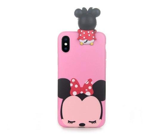 Funda iPhone X | 7 | 8 | 6 | Plus | Minnie Mouse