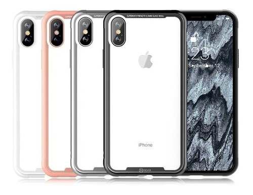 Funda iPhone Xs Max Cristal Templado Roar
