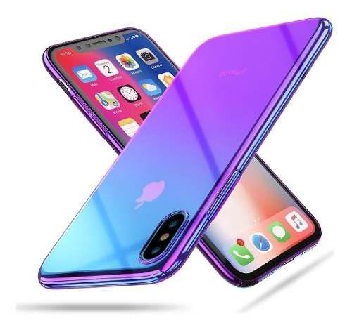 Funda iPhone Xs Max | X | Xr | 7 | 8 | Plus | Tornasol