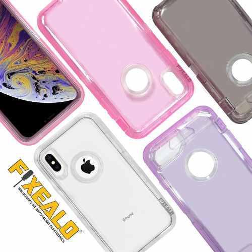 Funda iPhone Xs Max X Xr 8 7 6 Plus Protector Otterbox Rudo
