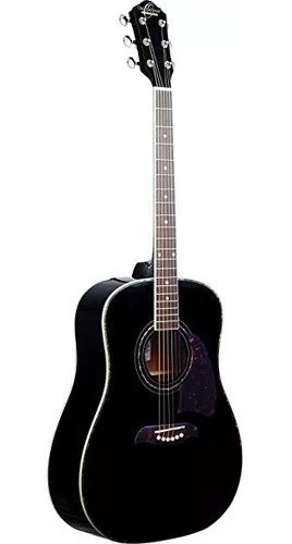 Guitarra Acústica Dreadnought Color Negro, Oscar Schmidt