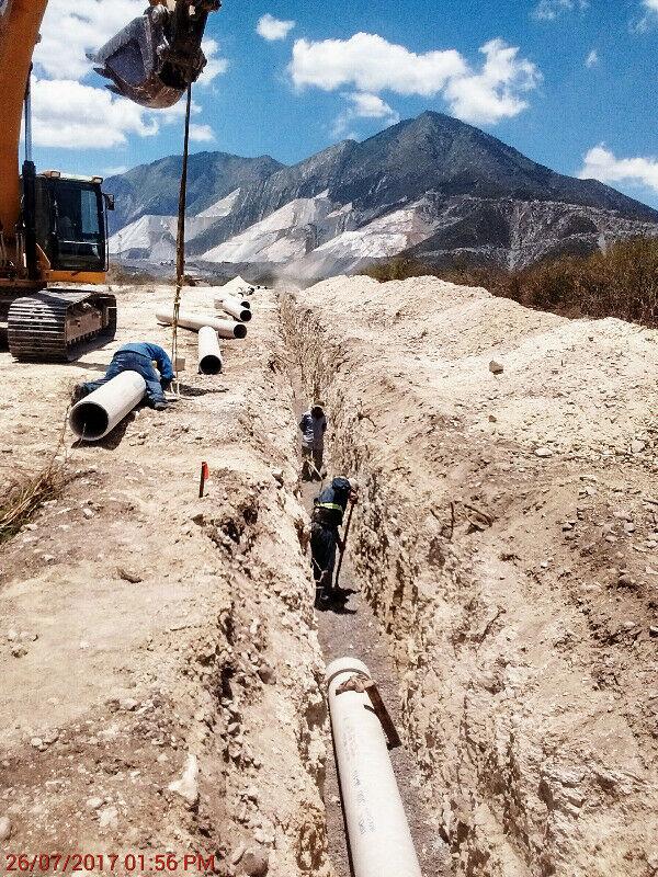 Instalacion Redes de agua y drenaje