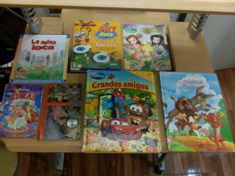 LIBROS Y CUENTOS INFANTILES Y MÁQUINA PARA HELADOS SEMI