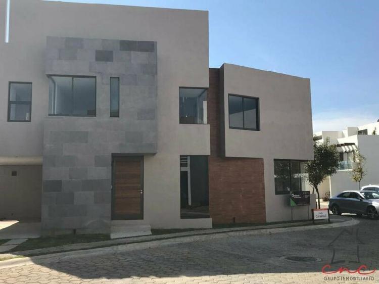 Lomas de Angelópolis.Casa Nueva en Renta Parque Campeche.