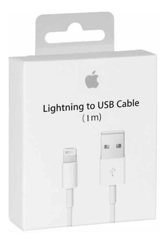 Lote 10 Cables Cargador Apple Lightning 1 Metro