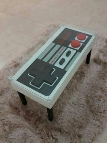 Mesa Control Nintendo Gamer / Geek (cristal Y Envío)