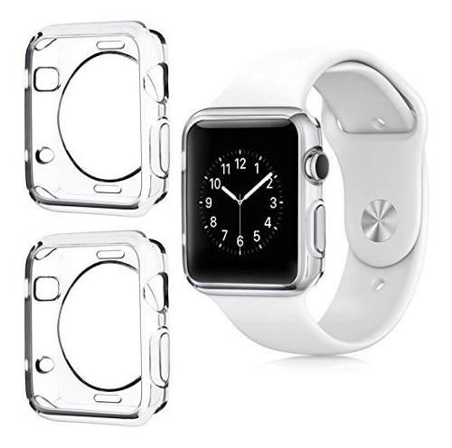 Mica Protector Funda Tpu Para Apple Watch Iwatch Serie 234