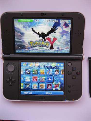 New 3ds Xl De Nintendo Con 22 Juegos De 3ds Y Mas