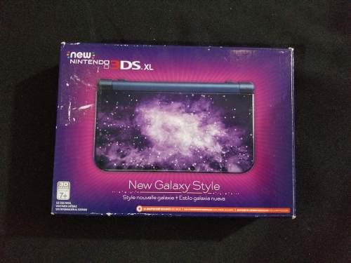 New Nintendo 3ds Xl Galaxy Con Caja Y Manual B