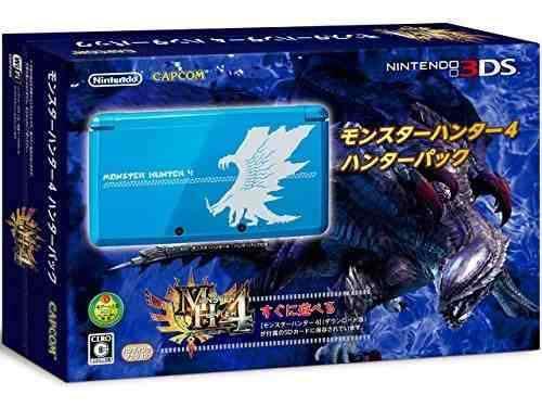 Nintendo 3ds Monster Hunter 4 Hunter Pack Limited Edition [j