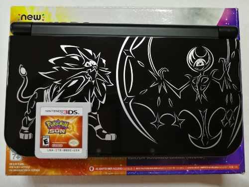 Nintendo 3ds Xl Pokemon Edición Sol Y Luna 10/10 + Regalos