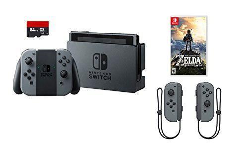 Nintendo Swtich 4 Elementos Paquete: Consola Nintendo Switch