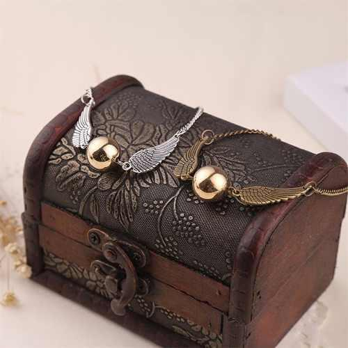Pack 2 Brazalete Harry Potter Snitch Dorada Quidditch