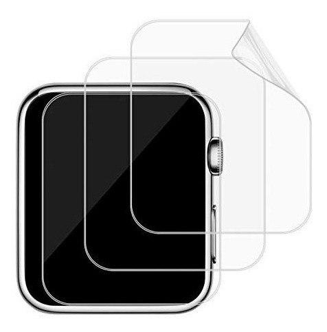 Pack 3 Micas Tpu Apple Watch 38- 42mm Serie 1 2 3