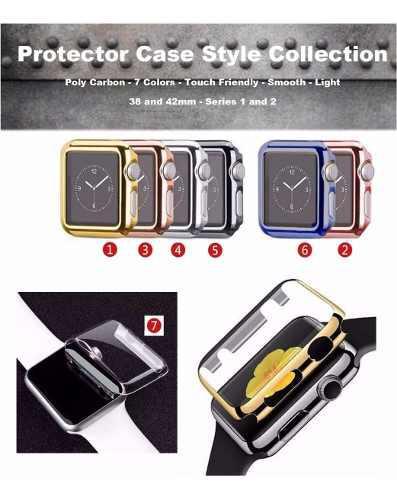 Protector Case De Lujo Caratula Marco Apple Watch, 38/42mm