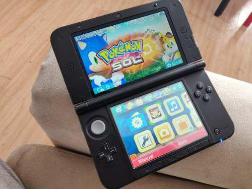 Remato Consola Nintendo 3ds Xl 4gb Juego Pokemon Sun Sol Ori