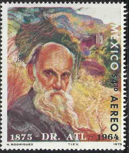 1975 Gerardo Murillo Dr. Atl Pintor Escritor Mnh Sc C469