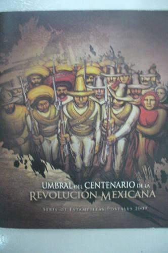 Colección De Timbres Umbral Centenario De La Revolución
