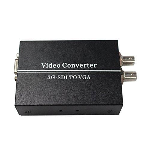 Convertidor De Video Sdi A Vga Sdi Bnc Con Adaptador De Corr