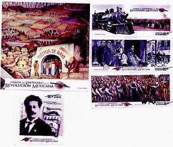 Estampilla Umbral Centenario De La Revolucion Mexicana #8