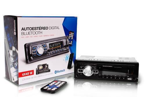 Estereo Usb Sd Bluetooth Recibe Llamadas New Generation Veec