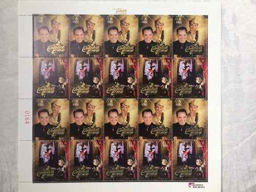 Hoja Cantinflas Aniversario 1911-2011 20 Timbres Nuevos