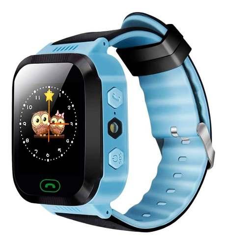 Reloj Localizador Gps Smartwatch Niños Sos Sim Celular