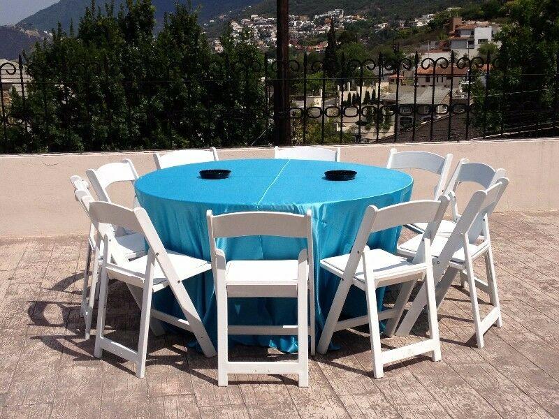 Renta de sillas y mesas en Monterrey