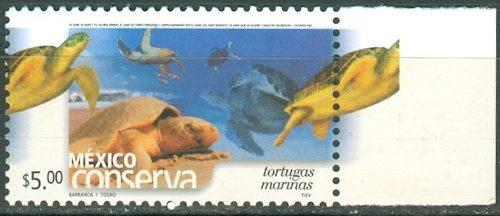Sc 2260a (s3) Año 2002 Conserva Tortugas Marinas 5p Perf 13