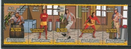 Sc 2522a-e Año 2006 El Chapulin Y El Chavo Idolos Populares