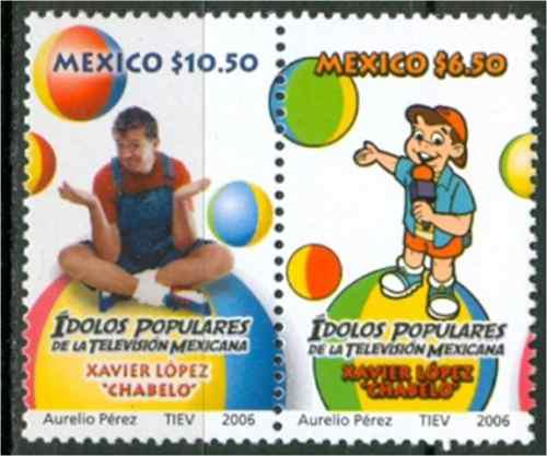 Sc 2528 2529 Año 2006 Xavier Lopez Chavelo Idolos Populares
