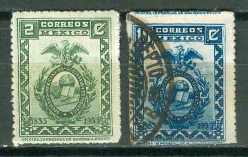 Sc 684 // 686 Año 1933 Sociedad De Geografia Y Estadistica