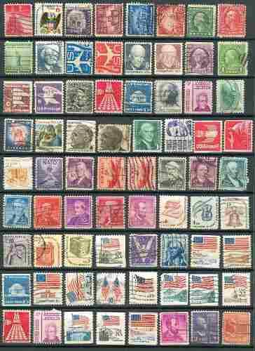 Sc () U.s. Lote 1 Timbres De Estados Unidos De America 72 Es