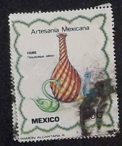 Timbre Postal Sello Estampilla Artesanía Mexicana