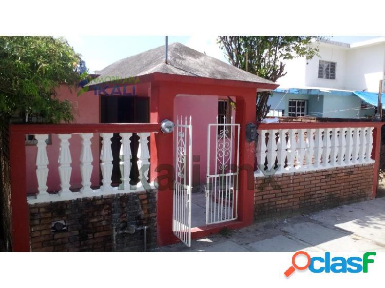 Venta Casa 2 recamaras Inf. Puerto Pesquero Tuxpan Veracruz,