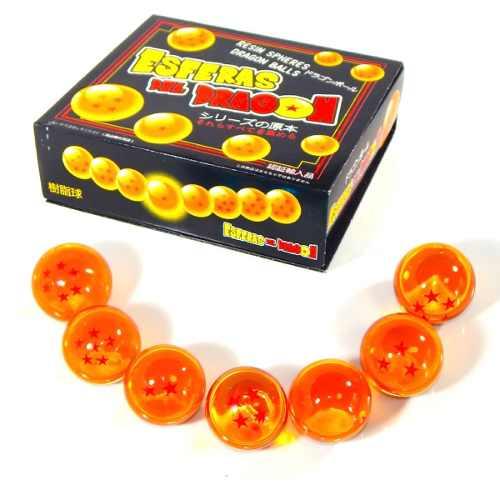 7 Esferas Dragon Ball Super Caja Exhibidor Goku Envio Gratis