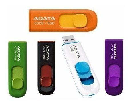 Adata Memorias Usb Portatil 16gb Retractil 2.0 C008