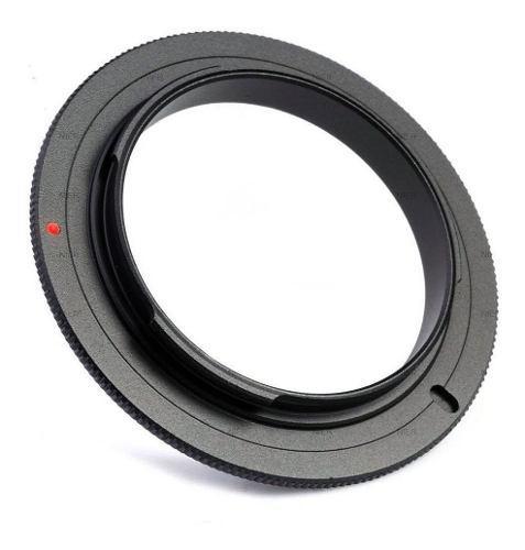 Anillo Macro Inversor Para Lente Nikon 55mm Filtro Adaptador